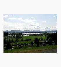 Historic Pioneer Cemetery Photographic Print