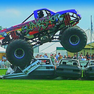 Monster Truck Madness - Surrey County Show - Guildford by Arrowman
