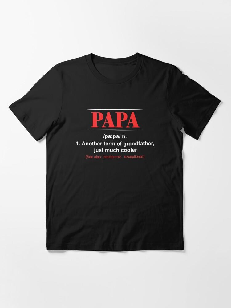 Awesome grand-père T SHIRT Cadeau Fête Père Cadeau Grand-père Anniversaire Tee Drôle Dad H