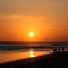 Walk on The Beach by Robert Gerard
