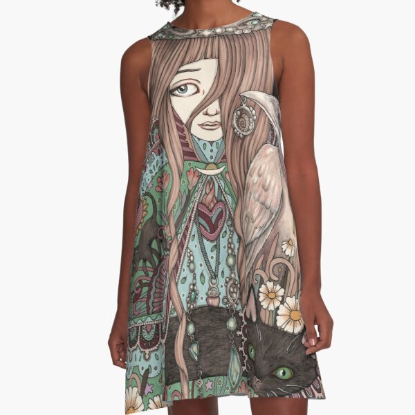 The High Priestess A-Line Dress