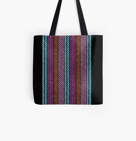 Gypsy All Over Print Tote Bag