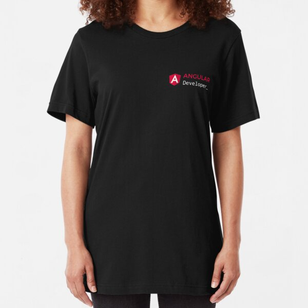 Developer T-shirt - Angular Slim Fit T-Shirt