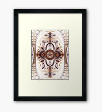 Time machine - Abstract Fractal Artwork Framed Print