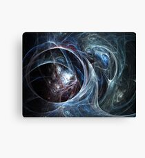 Spider's cave - Abstract Fractal Artwork Canvas Print