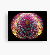 Intimate - Abstract Fractal Artwork Canvas Print