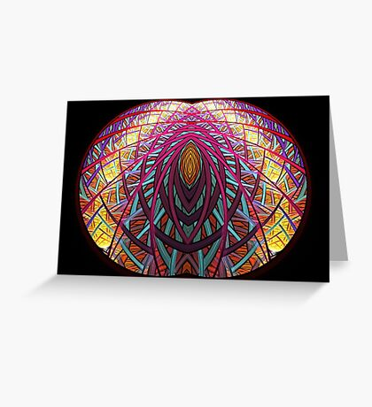 Intimate - Abstract Fractal Artwork Greeting Card
