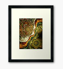 Autumn - Abstract Fractal Artwork Framed Print