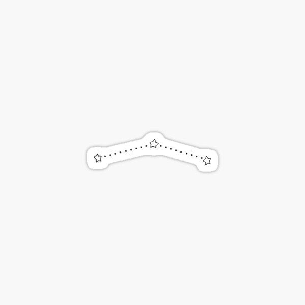 Orion's Belt Sticker
