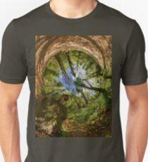 Squirrel Sculpture in Prehen Woods, Derry - Sky In T-Shirt