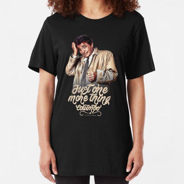 Columbo - TV Shows Slim Fit T-Shirt