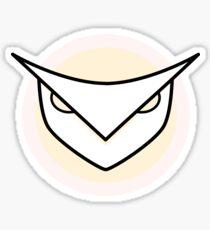 Minimalistic owl Sticker