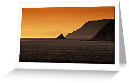 Sunset in Portovenere by alenavataga