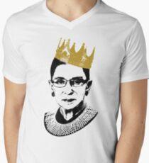 Camiseta para hombre de cuello en v Notorio RBG