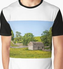 An extremely wide angle view Graphic T-Shirt