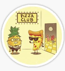 Pizza Club! Sticker