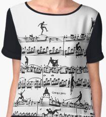 Mozart Men Chiffon Top