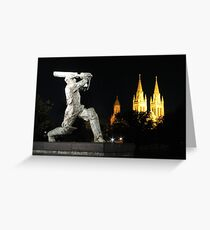 Sports mad in the City of Churches Greeting Card