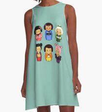 kokeshis A-Line Dress