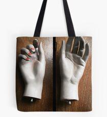 Moulded hands Tote Bag