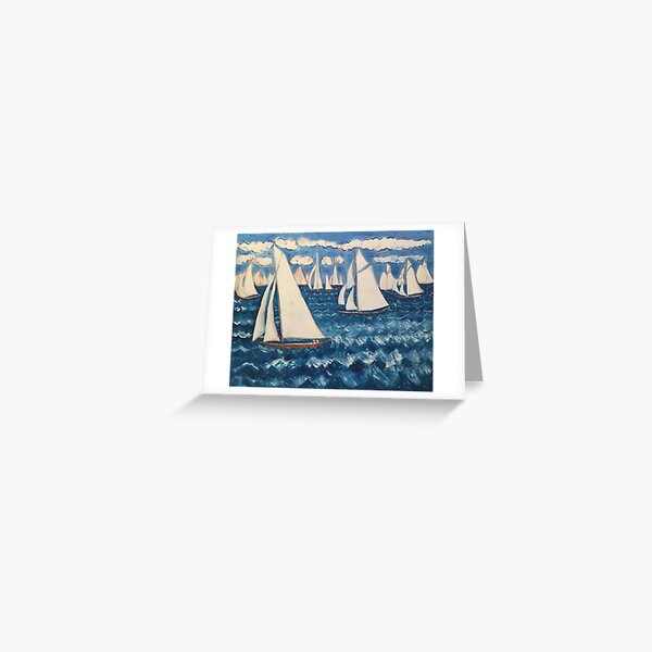 Trophee Panerai I Greeting Card