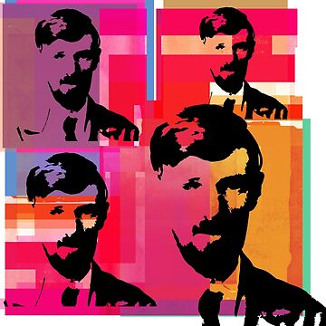 D. H. LAWRENCE - English writer and poet by CliffordHayes