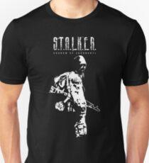 Stalker SOC Weiß Slim Fit T-Shirt