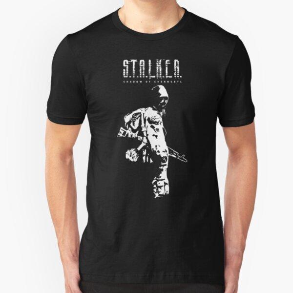Stalker SOC White Slim Fit T-Shirt