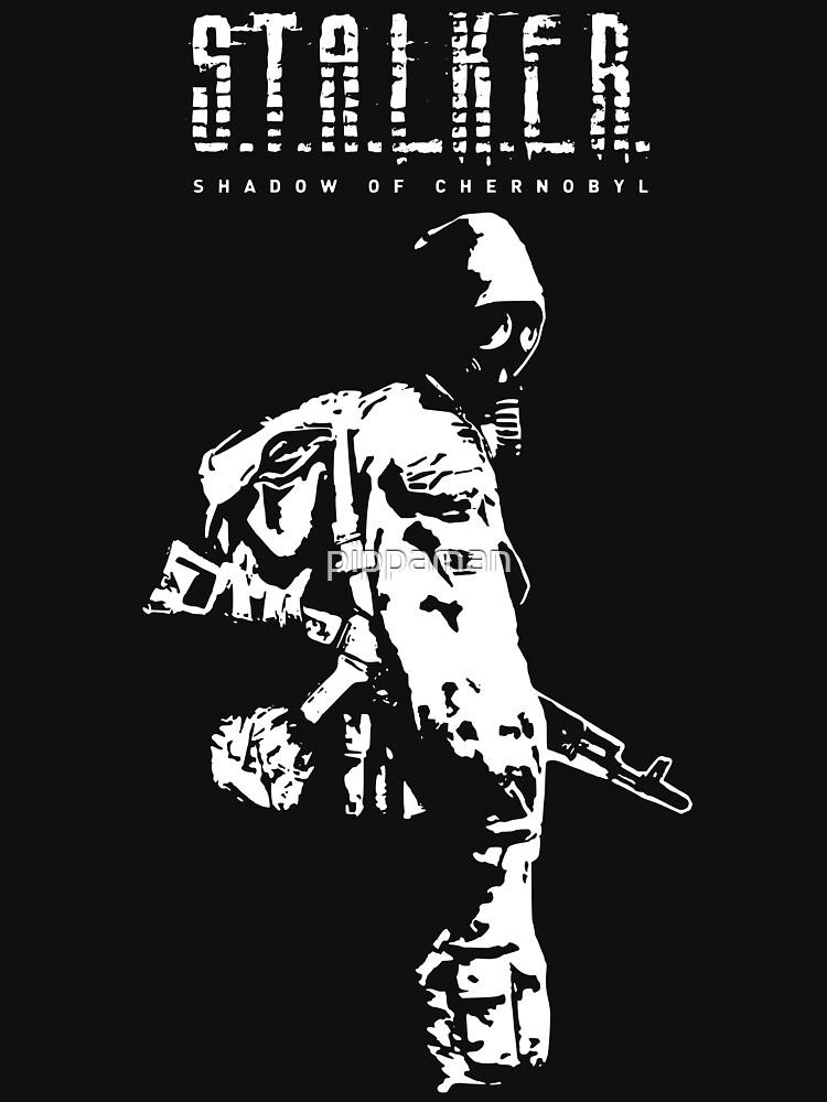 Stalker SOC White | Unisex T-Shirt