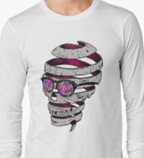 Funky Skull Art Long Sleeve T-Shirt