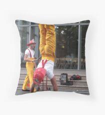 Circus Firemen 2 Throw Pillow