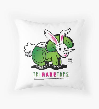 TRIHARETOPS™ Throw Pillow