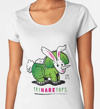 TRIHARETOPS™ Premium Scoop T-Shirt