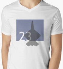 LOGO2301 Men's V-Neck T-Shirt