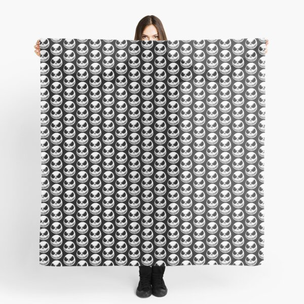 Jack Skellington Pixel Art Scarf