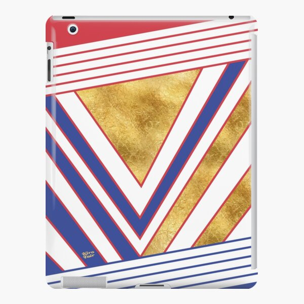 Art Deco Gold Blue Maritime #artdeco #minimal #art #design #kirovair #buyart #decor #home iPad Snap Case