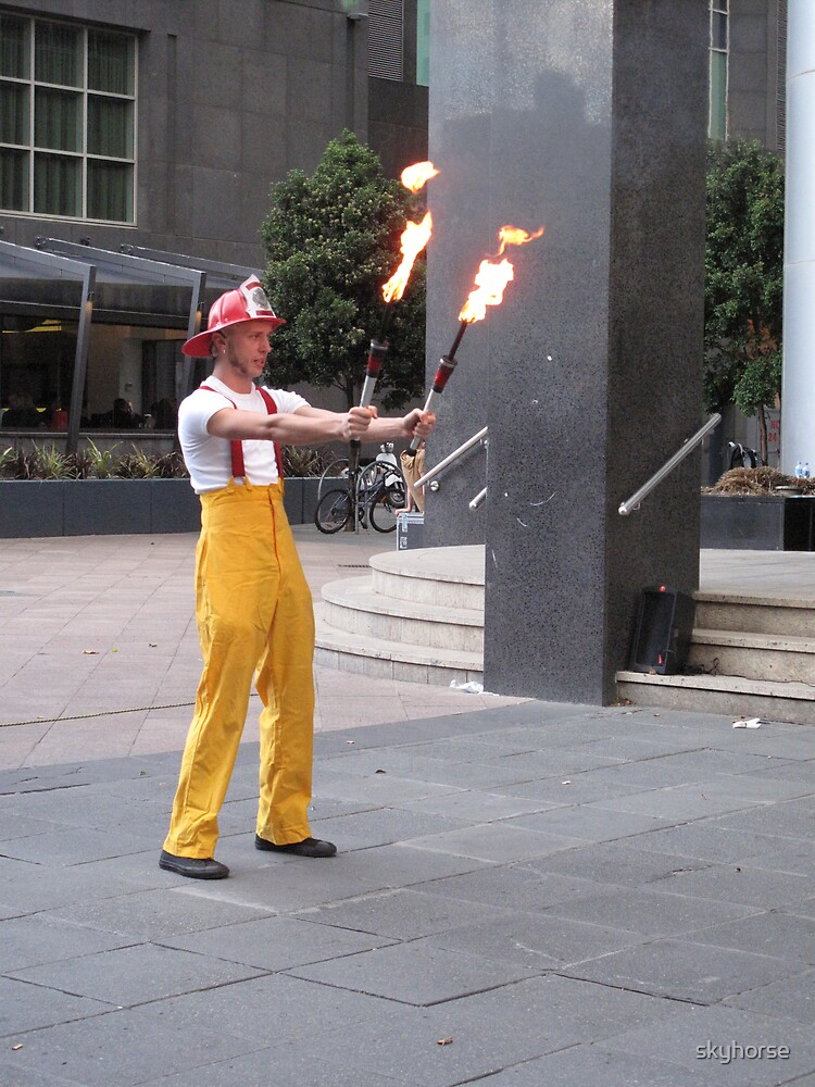 Circus Firemen 4 by skyhorse