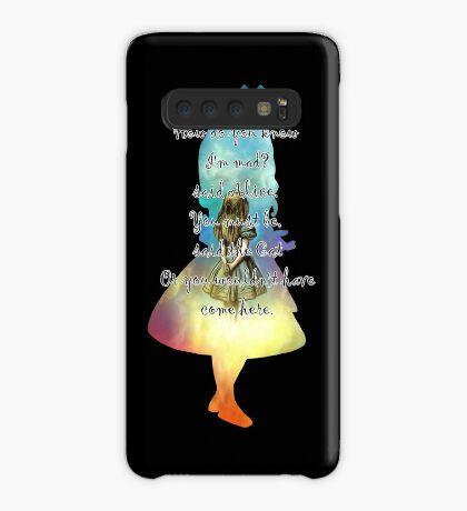 Wonderland - Alice In Wonderland Quote Funda/vinilo para Samsung Galaxy