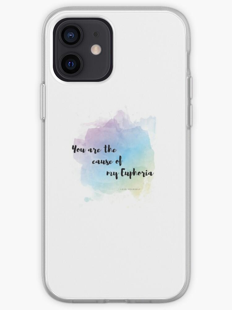 BTS Bangtan Euphoria Phone Case | iPhone Case & Cover