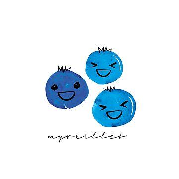 Myrtilles by HoopandHoller