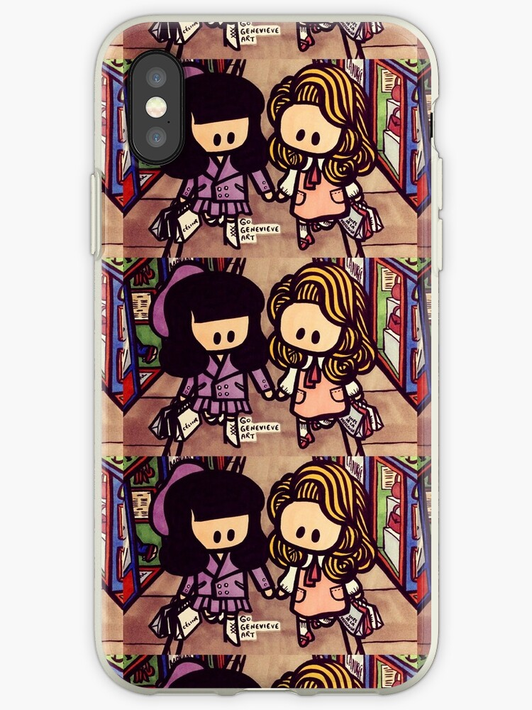 detailed look 11e2a b81bd 'Beronica BFFs in Paris' iPhone Case by gogenevieve