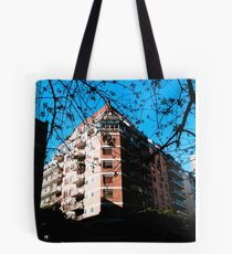 Hotel Trees Tote Bag