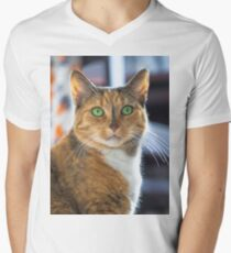 Seko - Those eyes Men's V-Neck T-Shirt