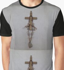 Decorated cross Graphic T-Shirt