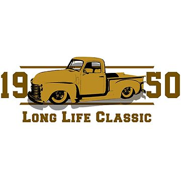Classic Car 1950 by lewisleticial