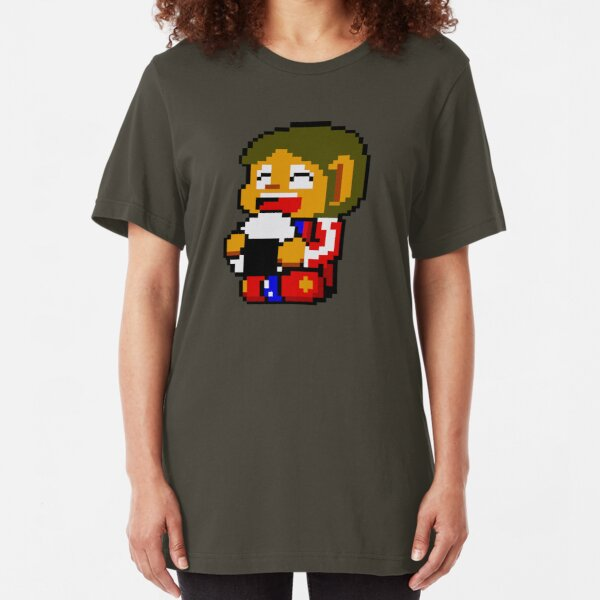 Alex with rice. Slim Fit T-Shirt