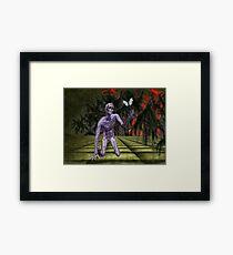 A Zombies Hope Framed Print