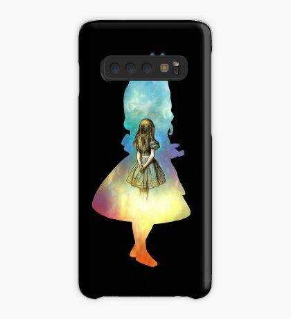 Alicia en el país de las Maravillas Funda/vinilo para Samsung Galaxy