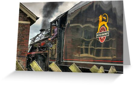 Passing the Signal Box by Trevor Kersley