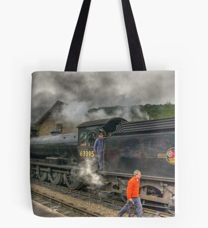 Checking The Line Tote Bag